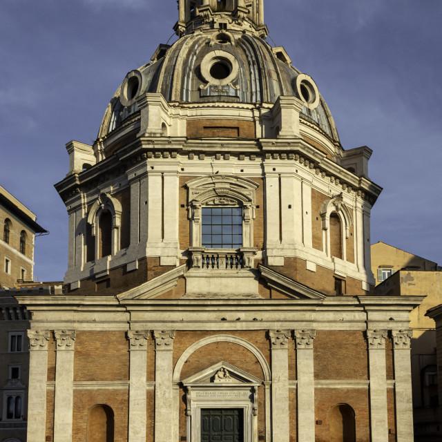 """Chiesa di Santa Maria di Loreto 2"" stock image"