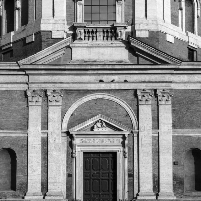 """Chiesa di Santa Maria di Loreto 3"" stock image"