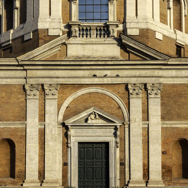 """Chiesa di Santa Maria di Loreto 4"" stock image"