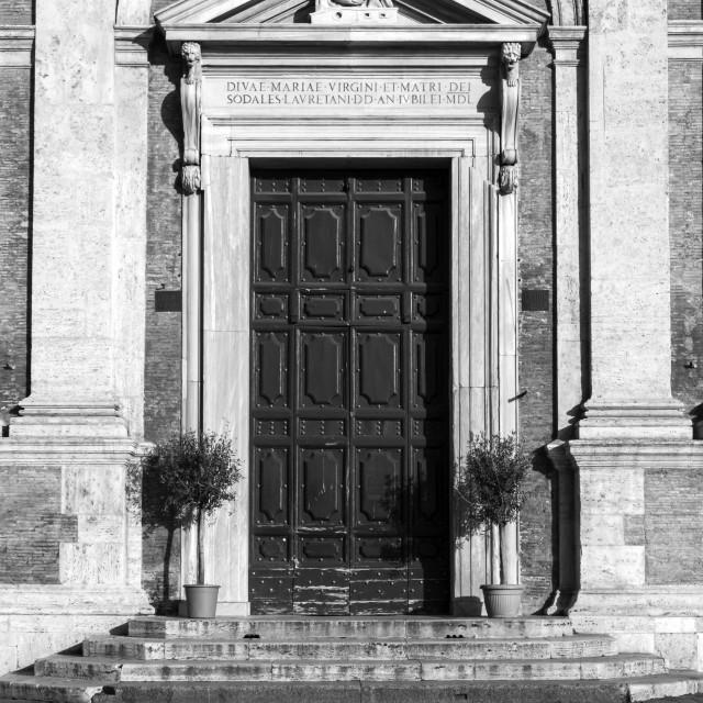 """Chiesa di Santa Maria di Loreto 5"" stock image"