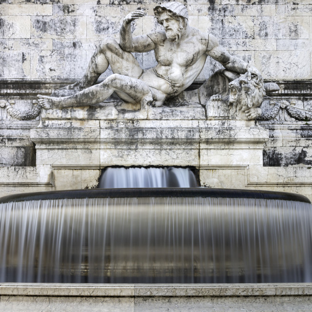 """The Fountain Of The Adriatic Sea 2"" stock image"