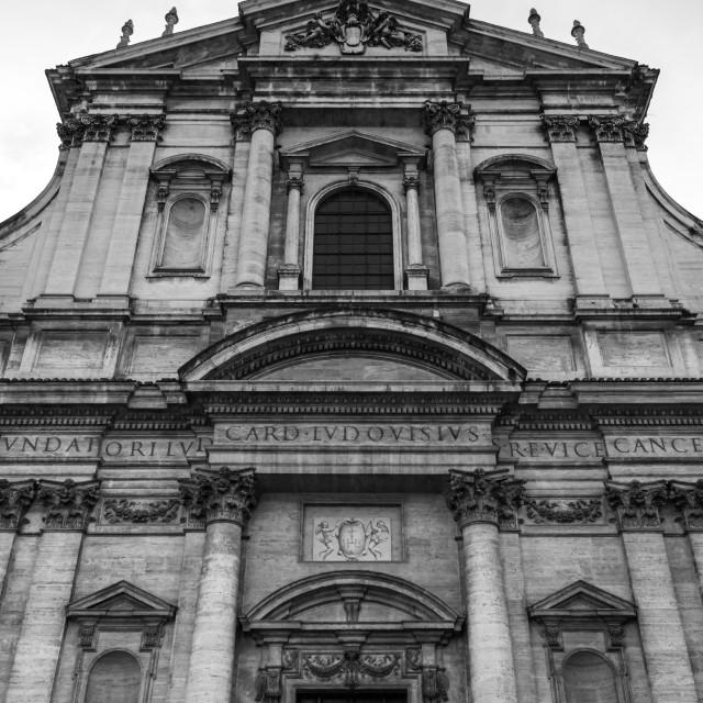 """""""Chiesa di Sant' Ignazio di Loyola 1"""" stock image"""