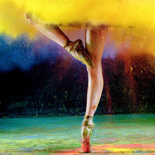 """Ballerina Shoes"" stock image"