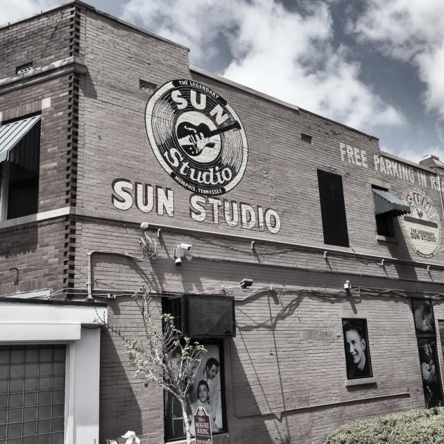 """Sun studio Memphis"" stock image"