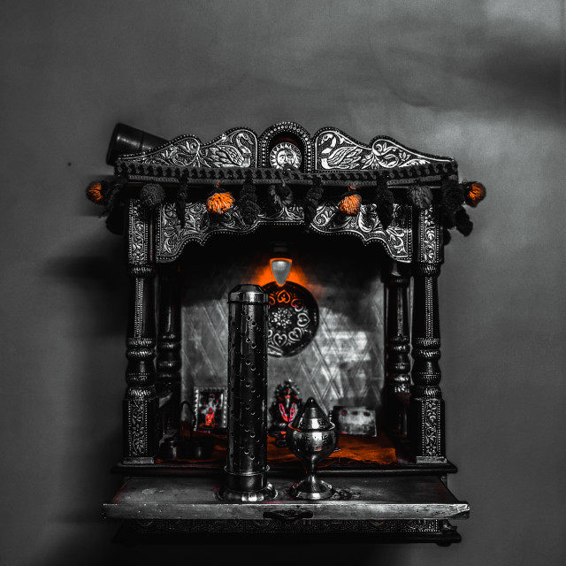"""""""small temple for house"""" stock image"""
