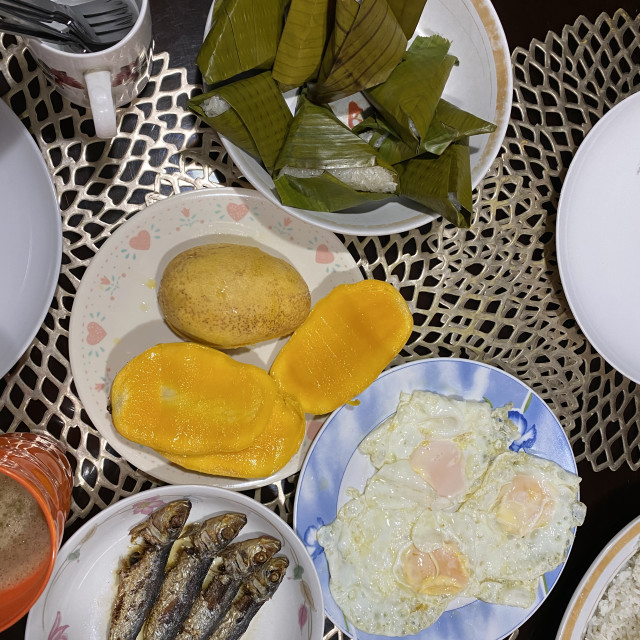 """Photo of a typical Filipino breakfast"" stock image"