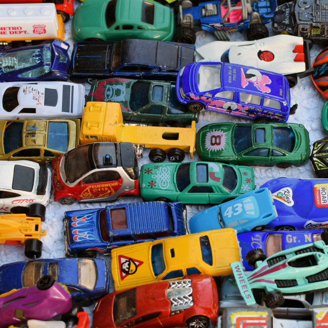 """""""old toy car collection"""" stock image"""