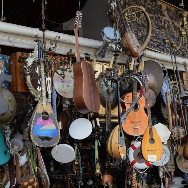 """""""vintage musical instruments"""" stock image"""
