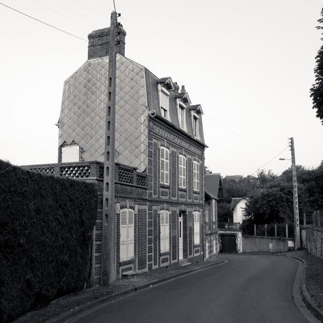 """Villers-sur-Mer"" stock image"