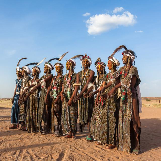 """Fulani people Gerewal ceremony"" stock image"