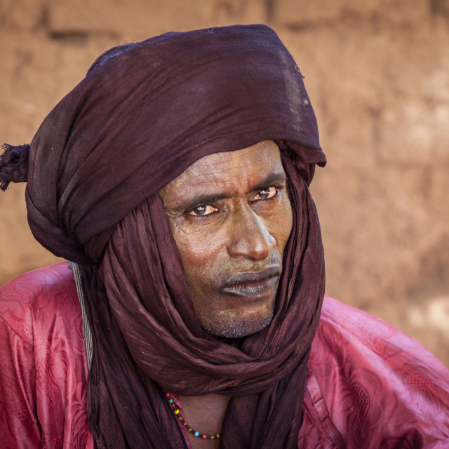 """""""tuareg nomad"""" stock image"""