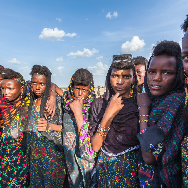"""Fulani tribe women"" stock image"