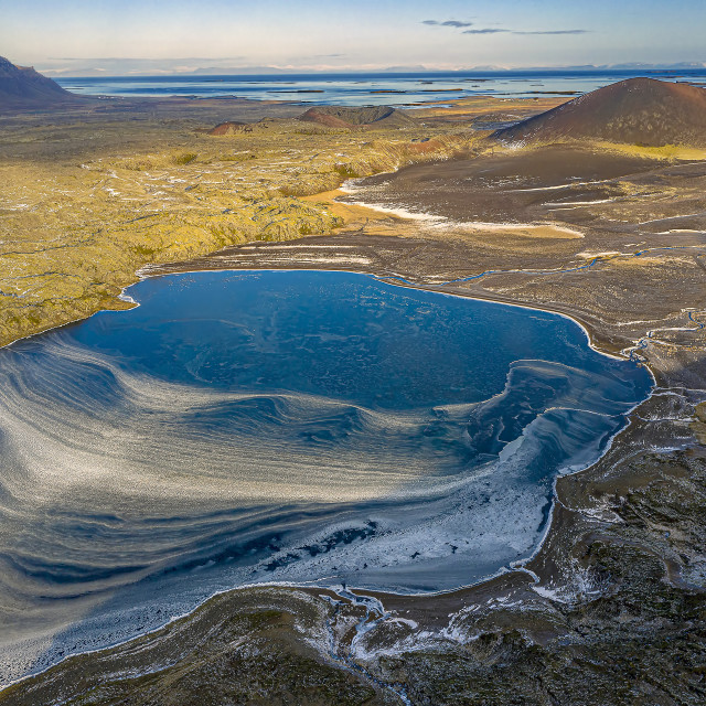 """Iceland Landscape Textures"" stock image"