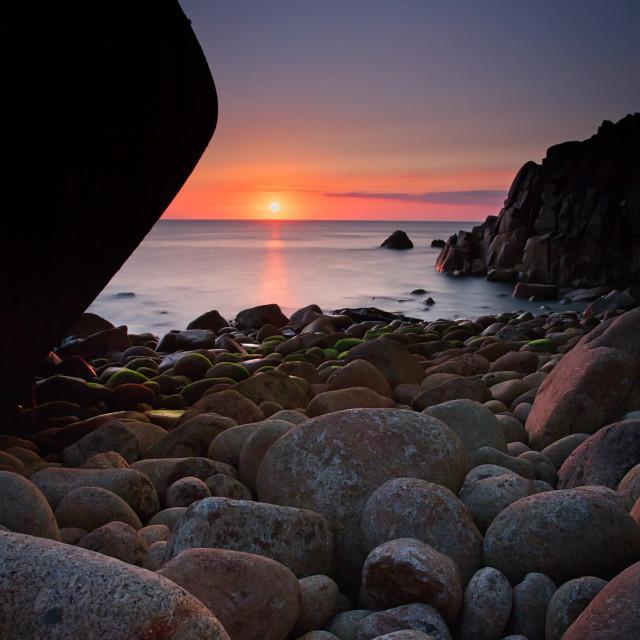 """Mulheim wreck, Cornwall."" stock image"