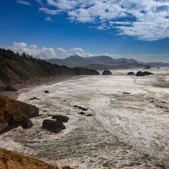 """Ecola State Park"" stock image"