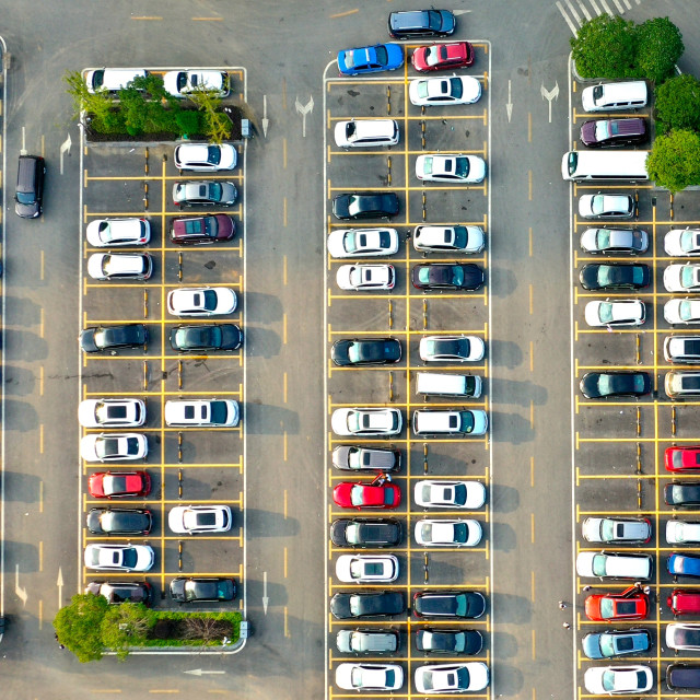 """Multiplicities - Parking Lot"" stock image"