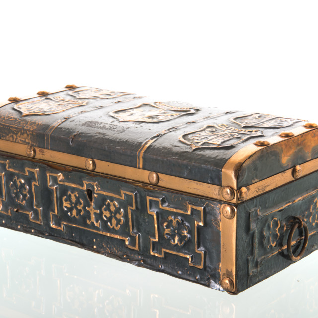 """Treasury box"" stock image"