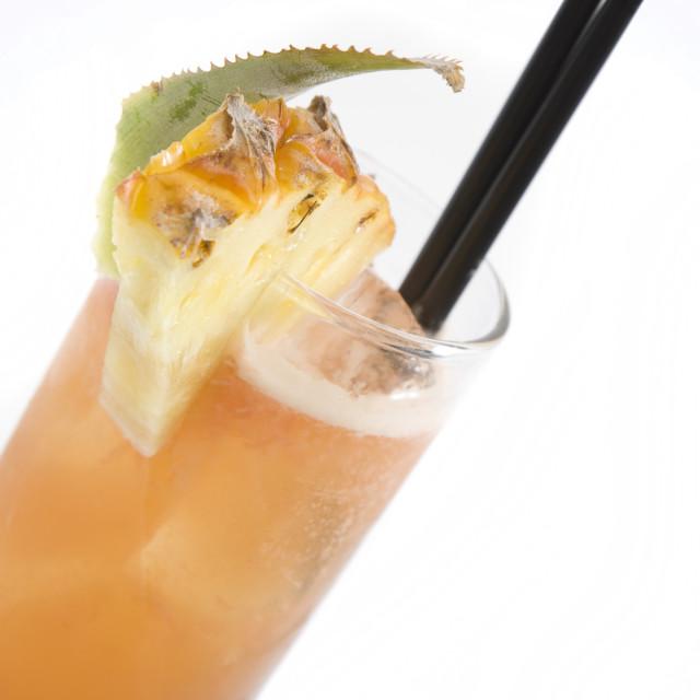 """Cuba Libre Rum Cocktail"" stock image"