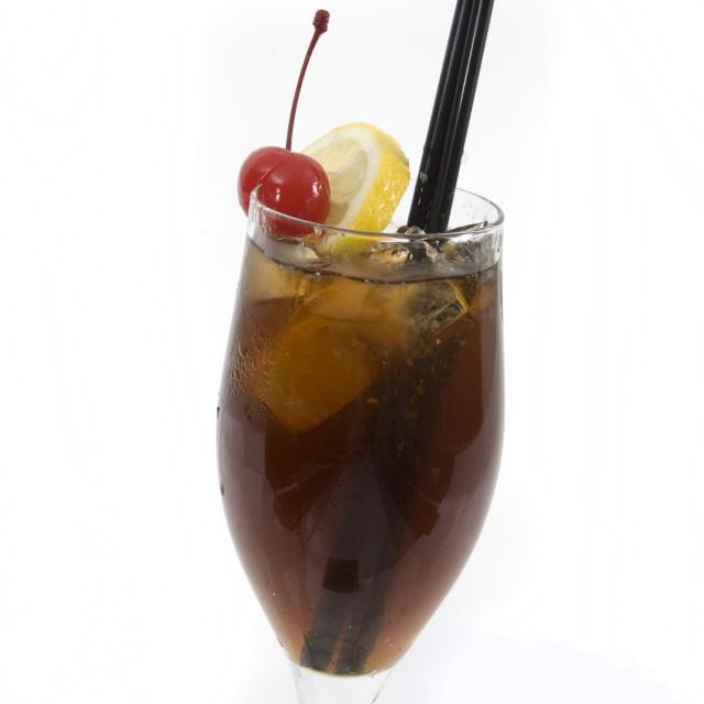 """Long Island Ice Tea"" stock image"