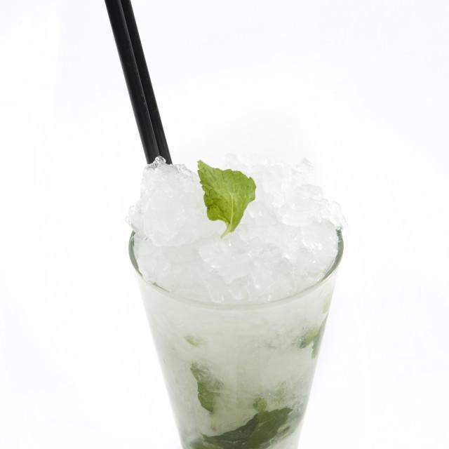 """Mojito Rum cocktail"" stock image"