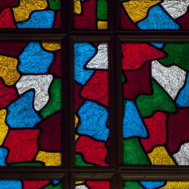 """A BEAUTIFUL WINDOW"" stock image"