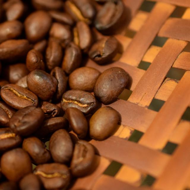 """Arabica Beans, Toraja"" stock image"