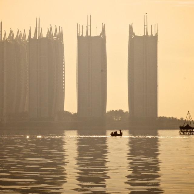 """Jakarta Skyscrapers"" stock image"