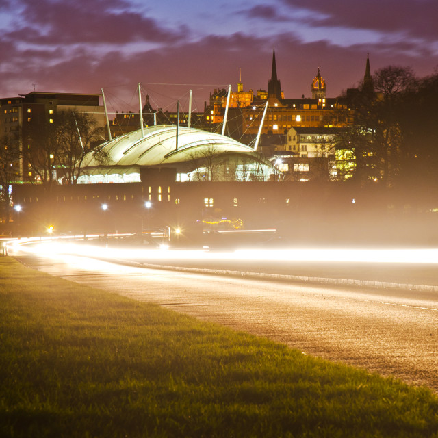 """Holyrood Park, Edinburgh"" stock image"