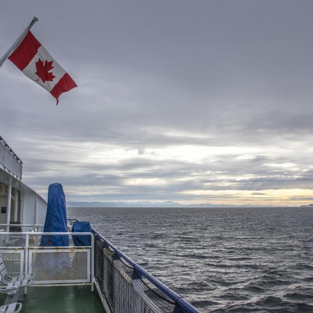 """""""I Am Canadian"""" stock image"""
