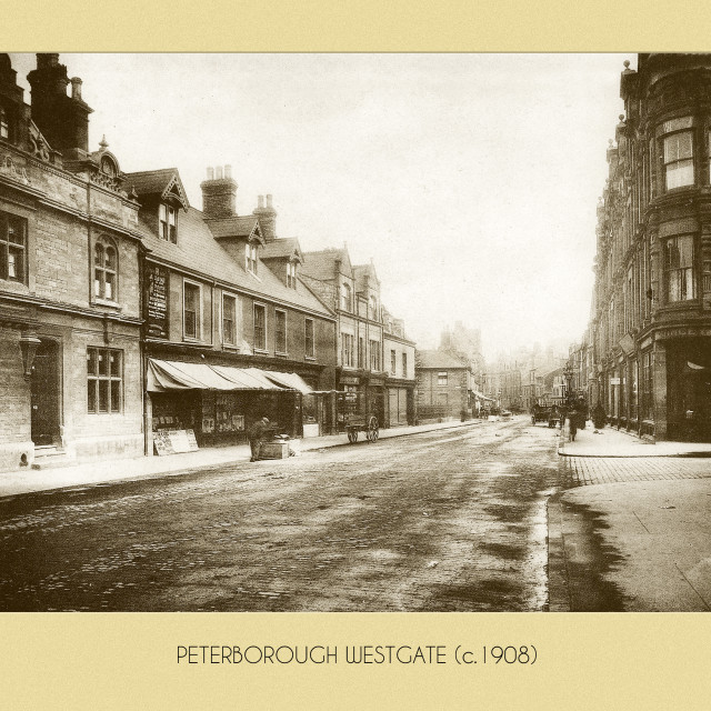"""Westgate (c.1908)"" stock image"