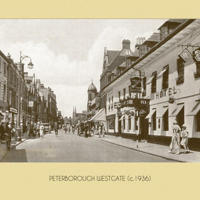 """Westgate (c.1936)"" stock image"