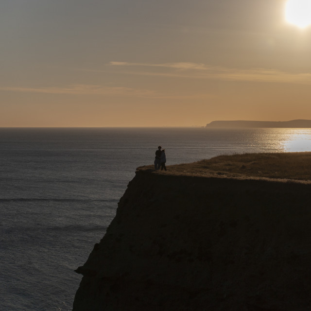 """""""Love on the Isle of Wight"""" stock image"""