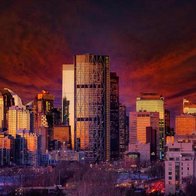 """Calgary"" stock image"