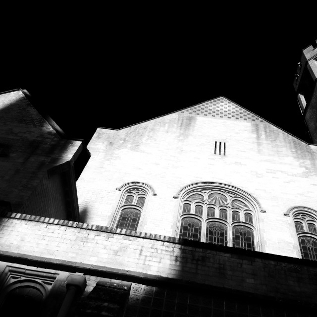 """Robert Hall Baptist Church"" stock image"