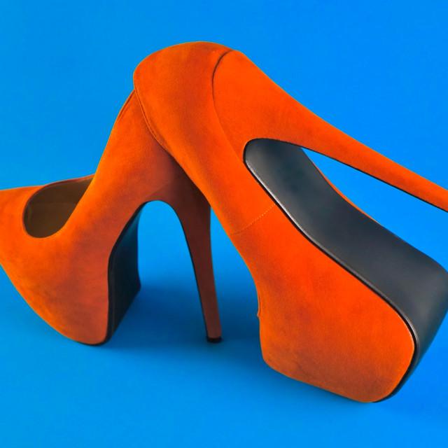 """Shoe Stories : Let's Walk"" stock image"