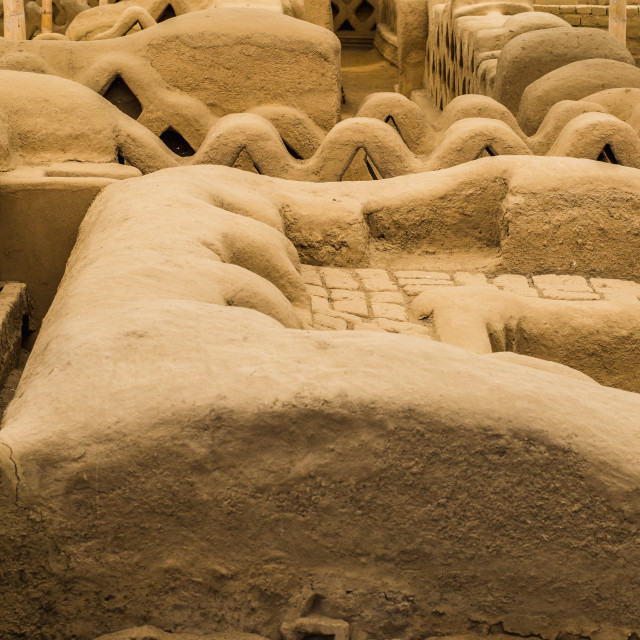 """""""Chan Chan Archaeological Zone"""" stock image"""