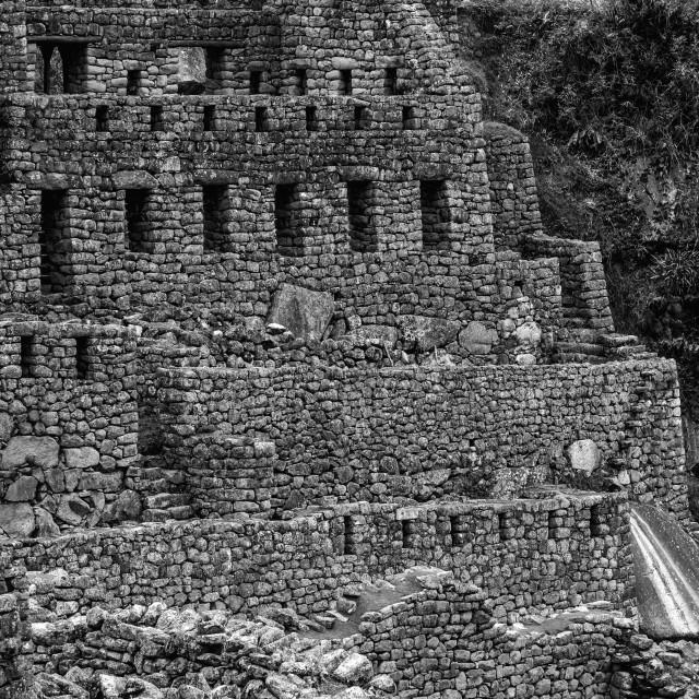 """A Journey into the Inca Empire"" stock image"