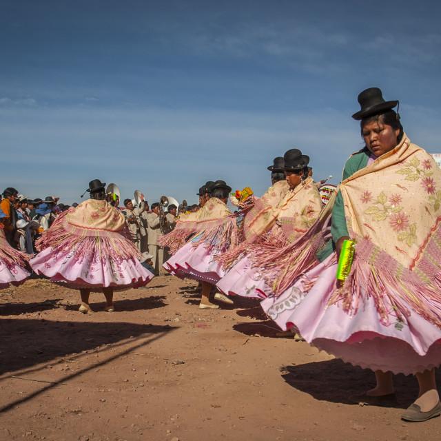 """Titicaca Lake, Uros, Peru"" stock image"