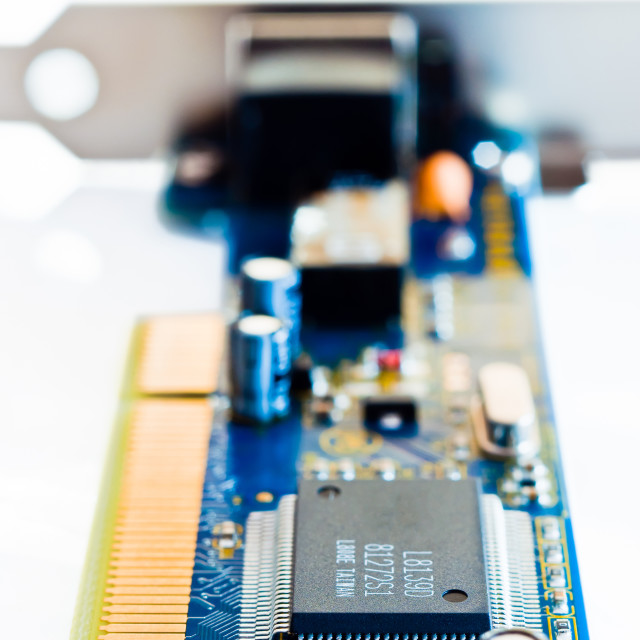 """""""Network Interface Card"""" stock image"""
