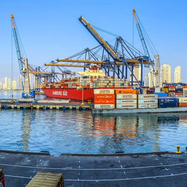 """""""Harbour View"""" stock image"""