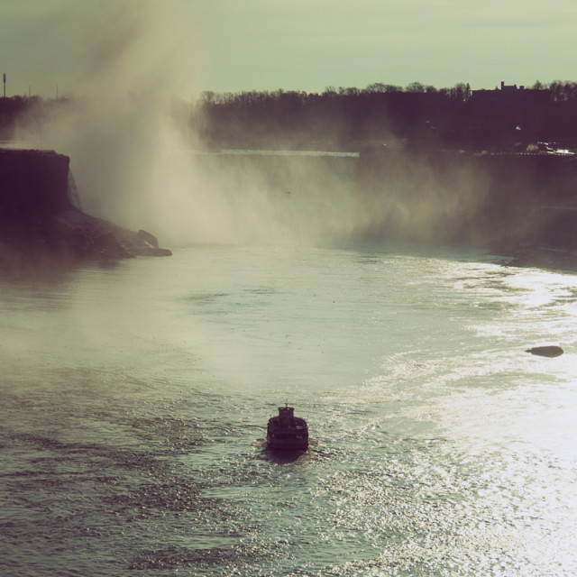 """""""Maid of the mist"""" stock image"""