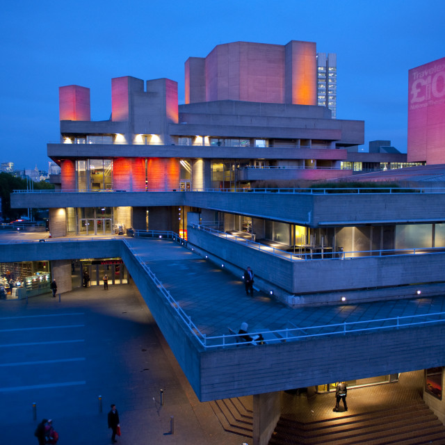 """National Film Theatre in Londyn"" stock image"