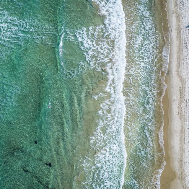 """Volcania beach"" stock image"