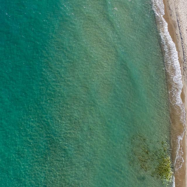 """""""Marmari beach"""" stock image"""