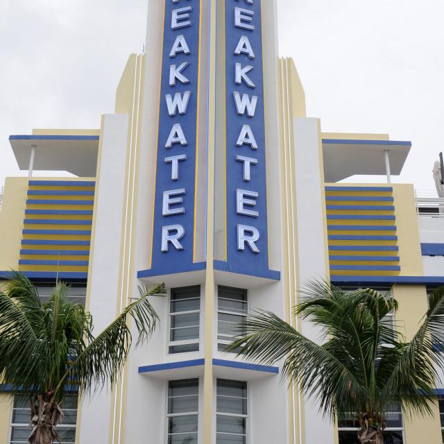 """""""Miami Beach, Florida"""" stock image"""