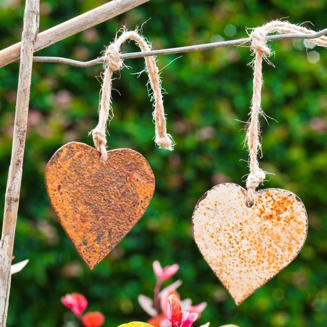 """Rustic Love"" stock image"