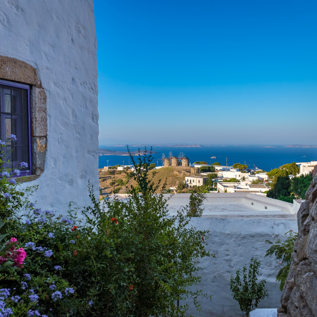 """Beautiful Patmos island"" stock image"
