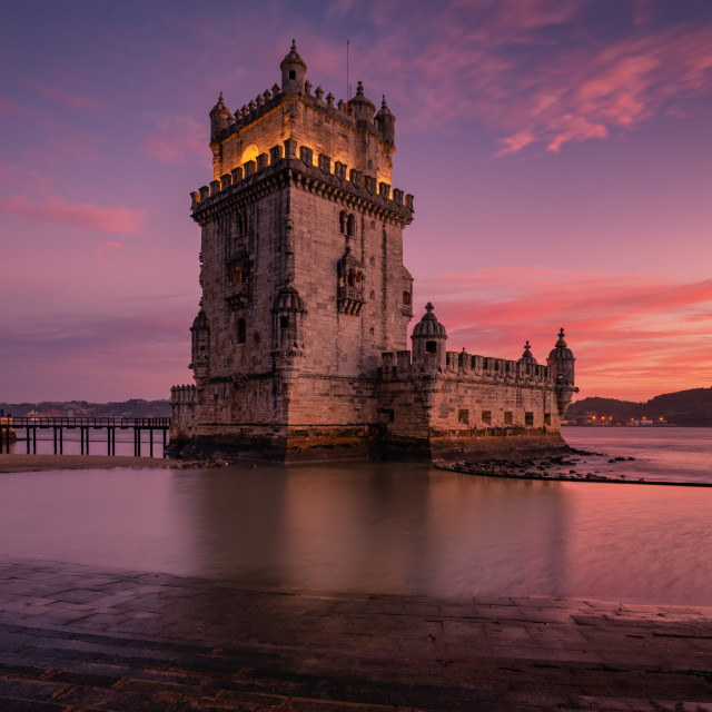 """Belem tower Lisbon"" stock image"