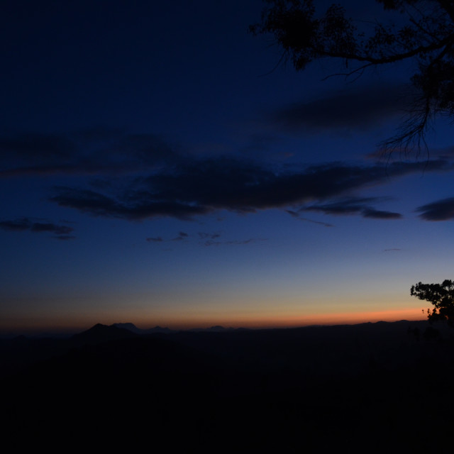 """Malawian Sunset"" stock image"