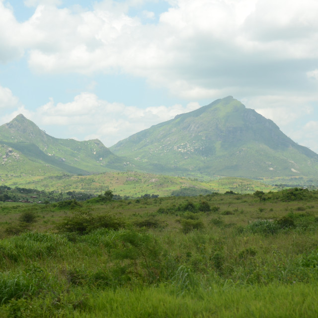 """Mount Mulanje"" stock image"